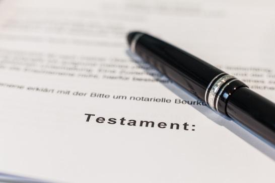 Weinstadt Testamentsvollstreckung Testament